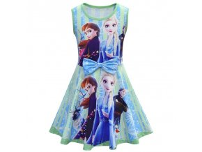 0 Anna Elsa 2 Dress for children Birthday Christmas Party Dress up Costumes Princess Party Dresses Vestidos
