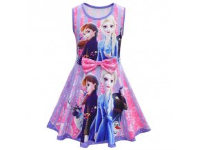 5 Anna Elsa 2 Dress for children Birthday Christmas Party Dress up Costumes Princess Party Dresses Vestidos