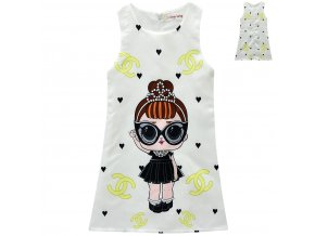 1 LOL Surprise Doll Girls Dress Summer Dress Surprise Dress Cartoon Skirt Children s A line Skirt