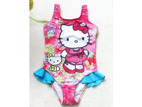1 Kitty Swimsuit 3 10 Year Girls Swimsuit One Piece Children Swimwear Baby Swimsuit High quality Girls