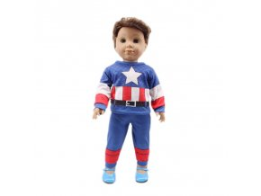 6 Doll Clothes 3Pcs Set Hat Sweater Jeans For 18 Inch American 43 Cm Born Logan Boy