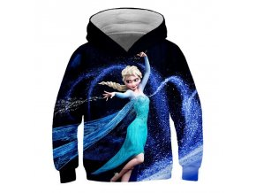 9 Ice Snow World 2 Elsa Anna Girls Hoodies Spring Hooded Sweatshirt For Girl A variety of