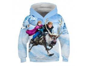 4 Ice Snow World 2 Elsa Anna Girls Hoodies Spring Hooded Sweatshirt For Girl A variety of