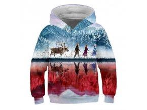 3 Ice Snow World 2 Elsa Anna Girls Hoodies Spring Hooded Sweatshirt For Girl A variety of