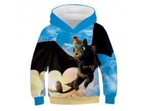 11 Autumn Cartoon How to Train Your Dragon Boys girl Sweatshirts Kids Hoodies 3D Printed Children Long