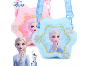 1 2019 New Disney Frozen 2 Children s Plush Bag Elsa Anna Little Girl Backpack Cartoon Cute (1)