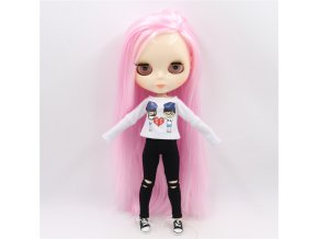 2 ICY factory blyth doll bjd toy joint body white skin shiny face 30cm 1 6 on (1)