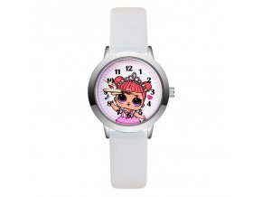 8 LOL dolls surprise 3D Projection Cartoon Children Watches Anime Figure Educational Small Kids Boys Girls Clock