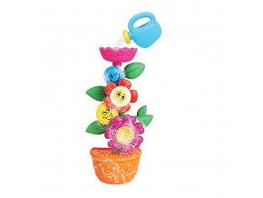 Dětská květina do vany s konvičkou Baby