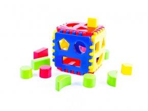 Dětská vkládačka kostka pro nejmenší