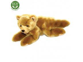 ECO-FRIENDLY plyšáci - Medvěd hnědý ležící, 15 cm