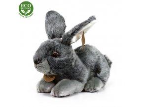 ECO-FRIENDLY plyšáci - Králík šedý, 25 cm