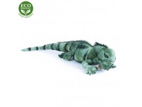 ECO-FRIENDLY plyšáci - Leguán zelený, 70 cm