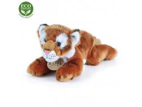 ECO-FRIENDLY plyšáci - Tygr hnědý ležící, 17 cm