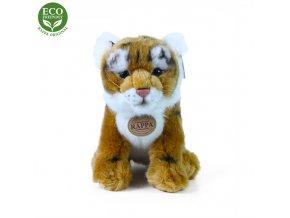 ECO-FRIENDLY plyšáci - Tygr hnědý sedící, 25 cm