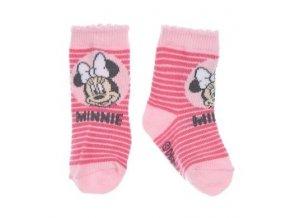 Pruhované ponožky pro miminko MINNIE