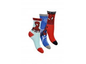 725897 1 spiderman ponozky pro kluky 3 pary