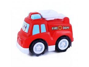 Dětské veselé hasičské auto