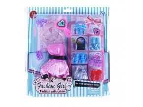 Obleček pro Barbie s doplňky