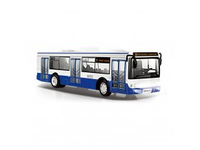 Dětský autobus s českým hlášením, 28 cm