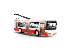 Dětský trolejbus s českým hlášením, 28 cm