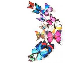 Samolepící motýli 12 ks