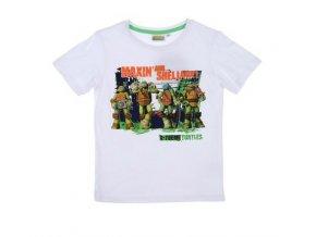 Dětské bílé tričko NINJA TURTLES