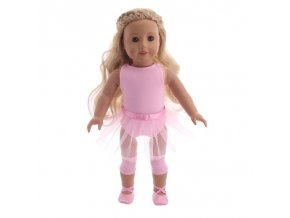 3 Doll Sequin Fashion Dress Dance Skirt For 18 Inch American Doll 43 Cm Born Baby Generation
