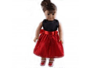 12 Doll Sequin Fashion Dress Dance Skirt For 18 Inch American Doll 43 Cm Born Baby Generation