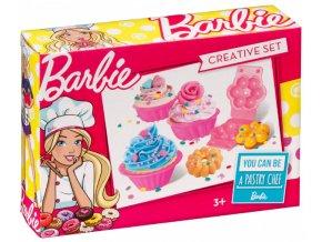 Dětská sada Barbie barevná modelína, Dortíky