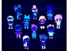 LOL Surprise neonová třpytková panenka