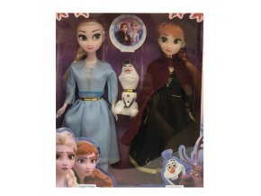 2 Disney Frozen 2 Toys Princess Elsa Toy Anna Dolls accessories Olfa Good Quality Gifts Plastic Baby