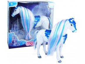 Chodící kůň s česacími vlasy Zimní království