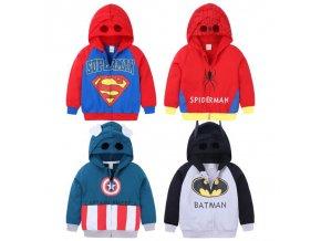 1 Spiderman Children Boys Sport Hoody Jacket Coat Baby Kids Cotton Sweatershirt T Shirt Hooded Cartoon Outerwear (1)