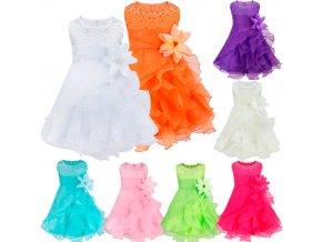 2 iiniim Vestido infantil festa Baby Girls Dress Baptism Toddler Gown Pageant Dress Pearls Princess for Wedding (1)