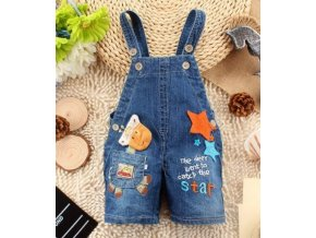 Baby Clothing Boys Girls Jeans Overalls Shorts Toddler Kids Denim Rompers Cute Cartoon Bebe Jumpsuit Summer Army Green