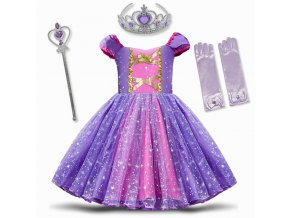1 Infant Baby Girls Rapunzel Sofia Princess Costume Halloween Cosplay Clothes Toddler Party Role play Kids Fancy