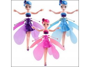 4 Newest Flyings Princess Elsa With Music Toy Infrared Induction Control Flyings Dolls For Girls Remote Control