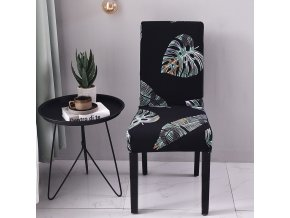 9 Spandex Elastic Printing Dining Chair Slipcover Modern Removable Anti dirty Kitchen Seater Case Stretch Chair Cover