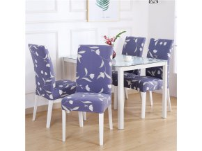 11 Dining Chair Cover Spandex Elastic Pastoral Print Modern Slipcovers Furniture Cover Kitchen Wedding housse de chaise