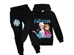 0 kids Clothing Sets for girls elsa costume print Birthday suit long sleeve children Sport Suits Hoodies
