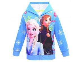 0 Snow Queen 2 Autumn Girls Anna elsa Princess Coat Kids Hooded Outerwear Winter Baby Girl Cartoon