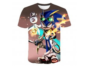 11 Summer Cool Sonic The Hedgehog Children Clothes Sonic T shirt Boys T Shirt T Kid Girl