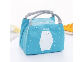 4 Bags Waterproof Oxford Flamingo Bag New Baby Food Milk Bottle Storage Insulation Lunch Bag Infant Kids