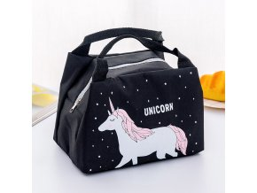 8 Bags Waterproof Oxford Flamingo Bag New Baby Food Milk Bottle Storage Insulation Lunch Bag Infant Kids