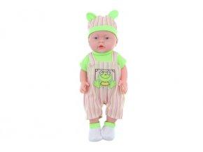 Miminko chlapeček, zelené oblečení