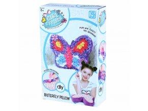 Dětský kreativní polštář - Motýl