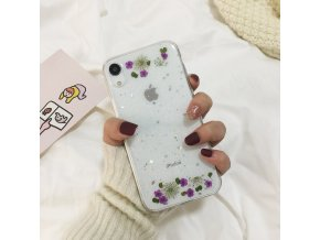 11 Qianliyao Real Dried Flowers Soft Cover For iPhone X 6 6S 7 8 Plus 11 Pro