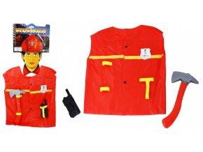 Dětská vesta hasič s doplňky