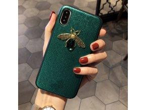 3 Luxury brand Diamond Bee Glitte soft case for iphone 7 8 6S plus X XR XS